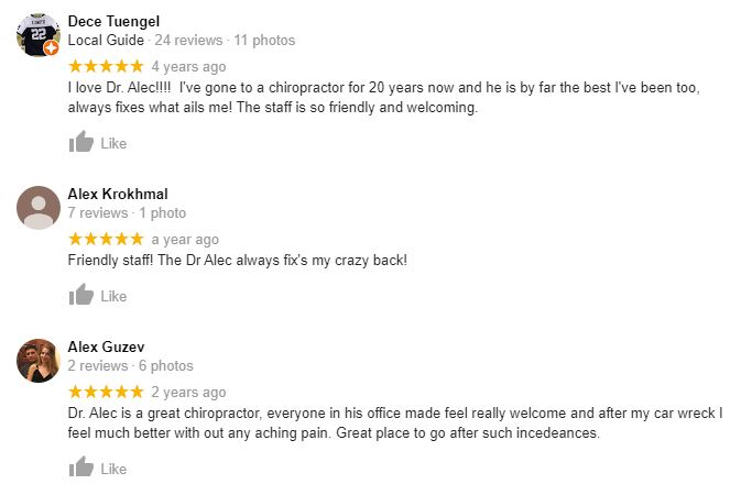 Chiropractic Charlotte NC Testimonials Fourty Seven